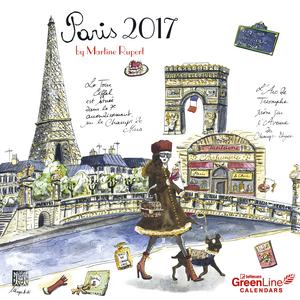 Cartoleria Calendario 2017 Family Planner 30x30. Paris TeNeues 0