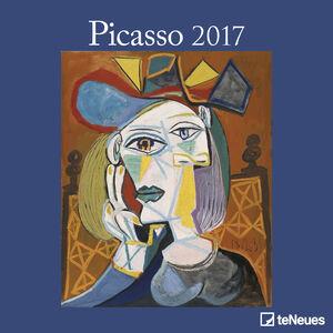 Cartoleria Calendario 2017 Fine Arts 30x30. Picasso TeNeues 0