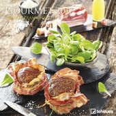 Cartoleria Calendario 2017 Photography 30x30. Gourmet TeNeues