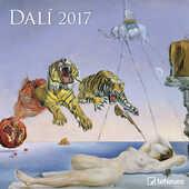 Cartoleria Calendario 2017 Fine Arts 30x30. Dalí TeNeues