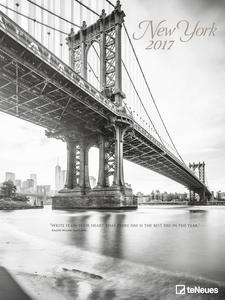 Cartoleria Calendario 2017 Poster. New York TeNeues 0