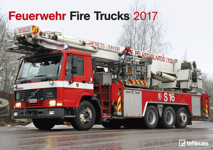 Cartoleria Calendario 2017 Fire Trucks TeNeues 0