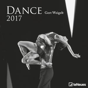 Cartoleria Calendario 2017 Photography 30x30. Dance TeNeues 0