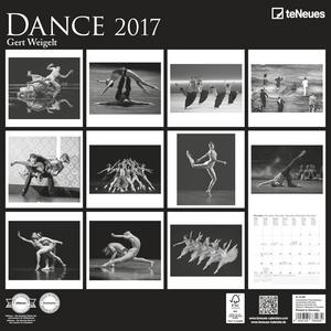 Cartoleria Calendario 2017 Photography 30x30. Dance TeNeues 1