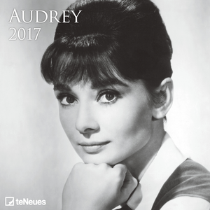Cartoleria Calendario 2017 Photography 30x30. Audrey Hepburn TeNeues 0