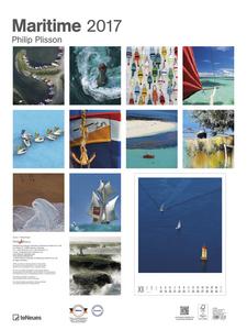 Cartoleria Calendario 2017 Poster. Maritime TeNeues 1