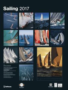 Cartoleria Calendario 2017 Poster. Sailing TeNeues 1