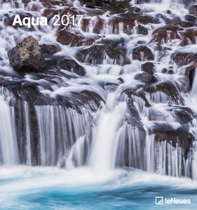Cartoleria Calendario 2017 Art & Photo 45x48. Aqua TeNeues 0