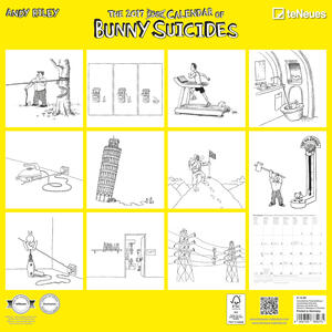 Calendario 2017 Life Style 30x30. Bunny Suicides - 2