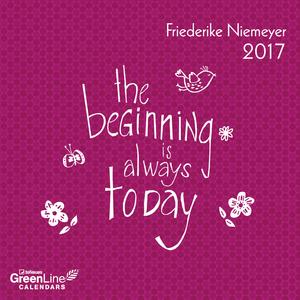 Cartoleria Calendario 2017 GreenLine Mini 17,5x17,5. Friederike Niemeyer TeNeues 0