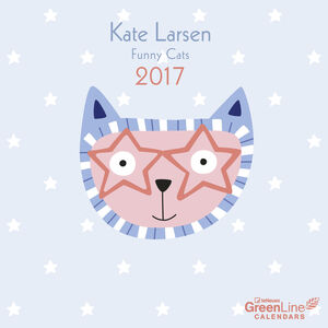 Cartoleria Calendario 2017 GreenLine Mini 17,5x17,5. Kate Larsen TeNeues 0