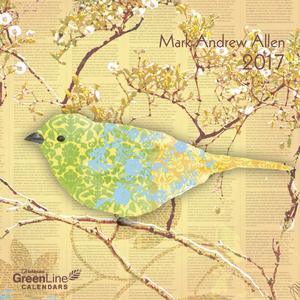 Cartoleria Calendario 2017 GreenLine Mini 17,5x17,5. Mark Andrew Allen TeNeues 0