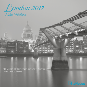 Cartoleria Calendario 2017 Photography 30x30. London TeNeues 0