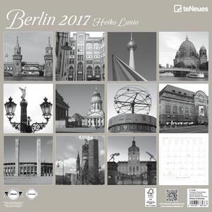Cartoleria Calendario 2017 Photography 30x30. Berlin TeNeues 1