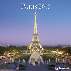 Cartoleria Calendario 2017 Photography 30x30. Paris TeNeues 0