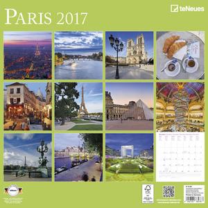 Cartoleria Calendario 2017 Photography 30x30. Paris TeNeues 1