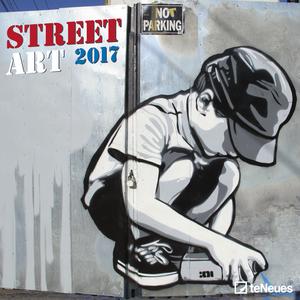 Cartoleria Calendario 2017 Life Style 30x30. Street Art TeNeues 0