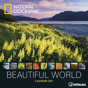 Cartoleria Calendario 2017 Photography 30x30. National Geographic Beautiful World TeNeues 0