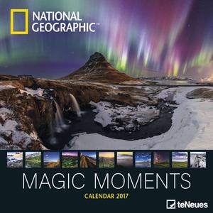 Cartoleria Calendario 2017 Photography 30x30. National Geographic Magic Moments TeNeues 0