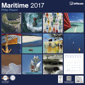 Cartoleria Calendario 2017 Photography 30x30. Maritime TeNeues 1