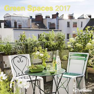 Cartoleria Calendario 2017 Photography 30x30. Green Spaces TeNeues 0