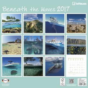 Cartoleria Calendario 2017 Photography 30x30. Beneath the Waves TeNeues 1