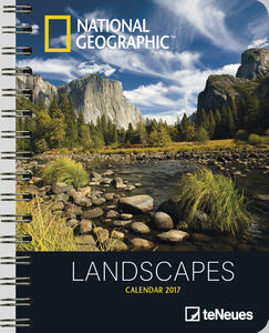 Agenda 2017 Deluxe. National Geographic Landscapes