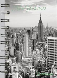 Cartoleria Agenda 2017 Pocket. New York TeNeues