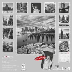 Cartoleria Calendario 2017 Art & Image 30x30. New York TeNeues 1