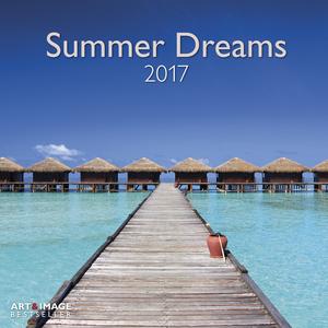 Cartoleria Calendario 2017 Art & Image 30x30. Summer Dreams TeNeues 0