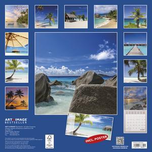 Cartoleria Calendario 2017 Art & Image 30x30. Summer Dreams TeNeues 1