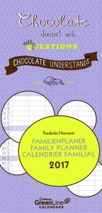 Cartoleria Calendario 2017 GreenLine Family Planner 23x48. Friederike Niemeyer TeNeues
