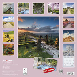 Calendario 2017 Art & Image 30x30. Paths - 2