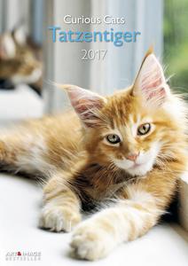 Cartoleria Calendario 2017 Art & Image 29,7x42. Curious Cats TeNeues 0