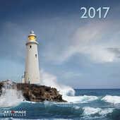 Cartoleria Calendario 2017 Art & Image 30x30. Lighthouses TeNeues