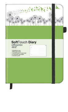 Agenda 2017 SoftTouch Silhouettes 16x22. Dandelion