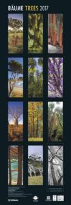 Cartoleria Calendario 2017 King Size 34x98. Gardens Trees TeNeues 1