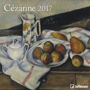 Cartoleria Calendario 2017 Fine Arts 30x30. Cézanne TeNeues 0