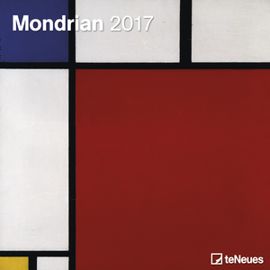 Cartoleria Calendario 2017 Fine Arts 30x30. Mondrian TeNeues 0