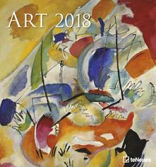 Calendario 2018 TeNeues Art & Photo Fine Arts 45 x 48. Art