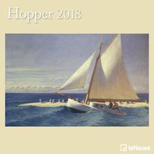 Calendario 2018 TeNeues Fine Arts 30 x 30. Hopper