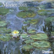 Calendario 2018 TeNeues Fine Arts 30 x 30. Monet