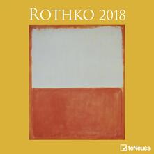 Calendario 2018 TeNeues Fine Arts 30 x 30. Rothko