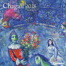 Calendario 2018 TeNeues Fine Arts 30 x 30. Chagall
