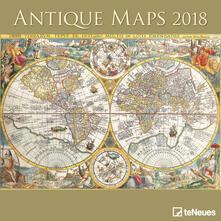 Calendario 2018 TeNeues Life Style 30 x 30. Mappe antiche