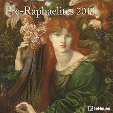Calendario 2018 TeNeues Fine Arts 30 x 30. Preraffaelliti