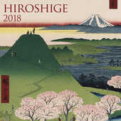 Cartoleria Calendario 2018 TeNeues Fine Arts 30 x 30. Hiroshige TeNeues