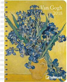 Agenda 2018 TeNeues Delu x e Diaries 16,5 x 21,6. Van Gogh