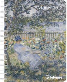 Agenda 2018 TeNeues Delu x e Diaries 16,5 x 21,6. Monet