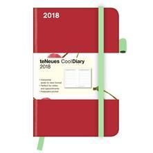 Agenda 2018 TeNeues CoolDiaries 9 x 14. Cherry